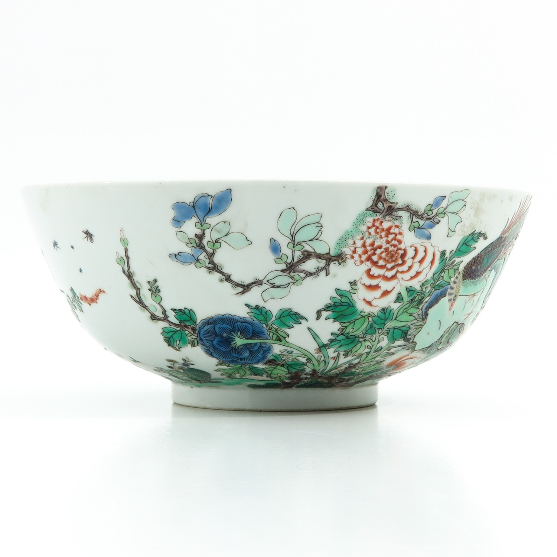 A Famille Verte Bowl - Image 4 of 9