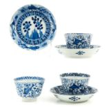 A Series of 3 Cups and Saucers
