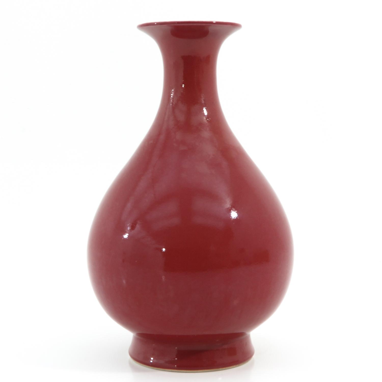 A Red Glaze Vase - Image 4 of 10