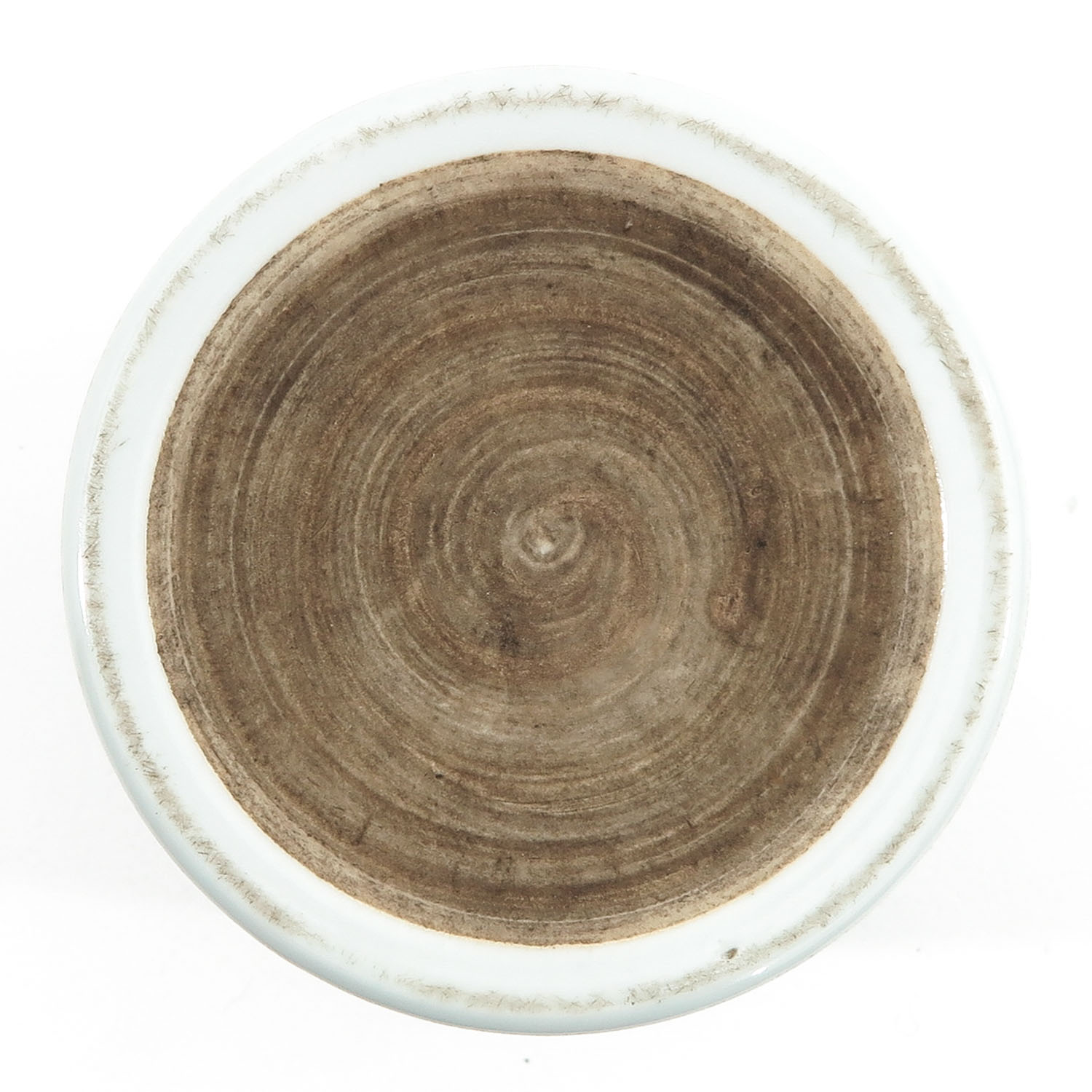 A Famille Rose Brush Pot - Image 6 of 9