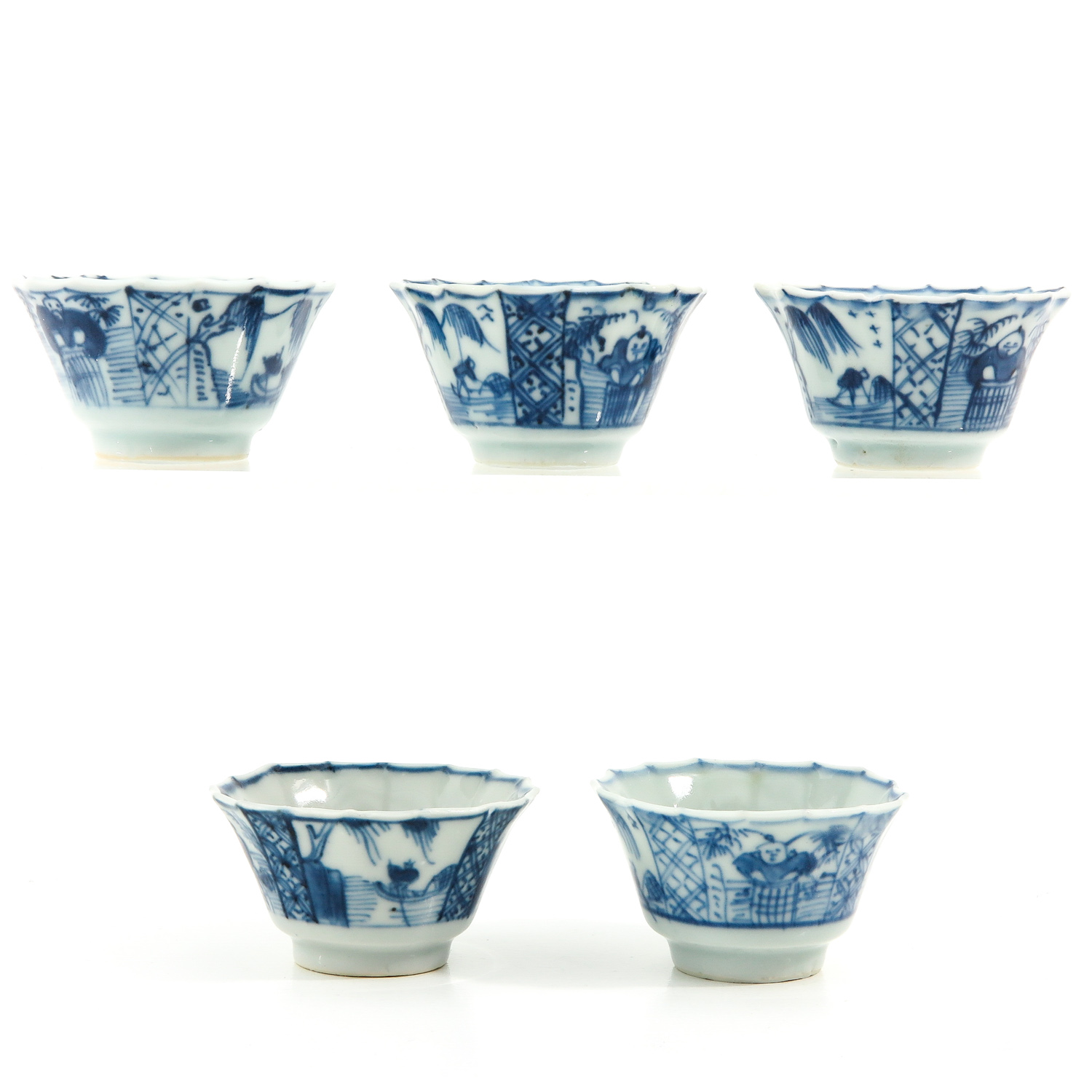 A Collection of 5 Cups and Saucers - Image 2 of 10