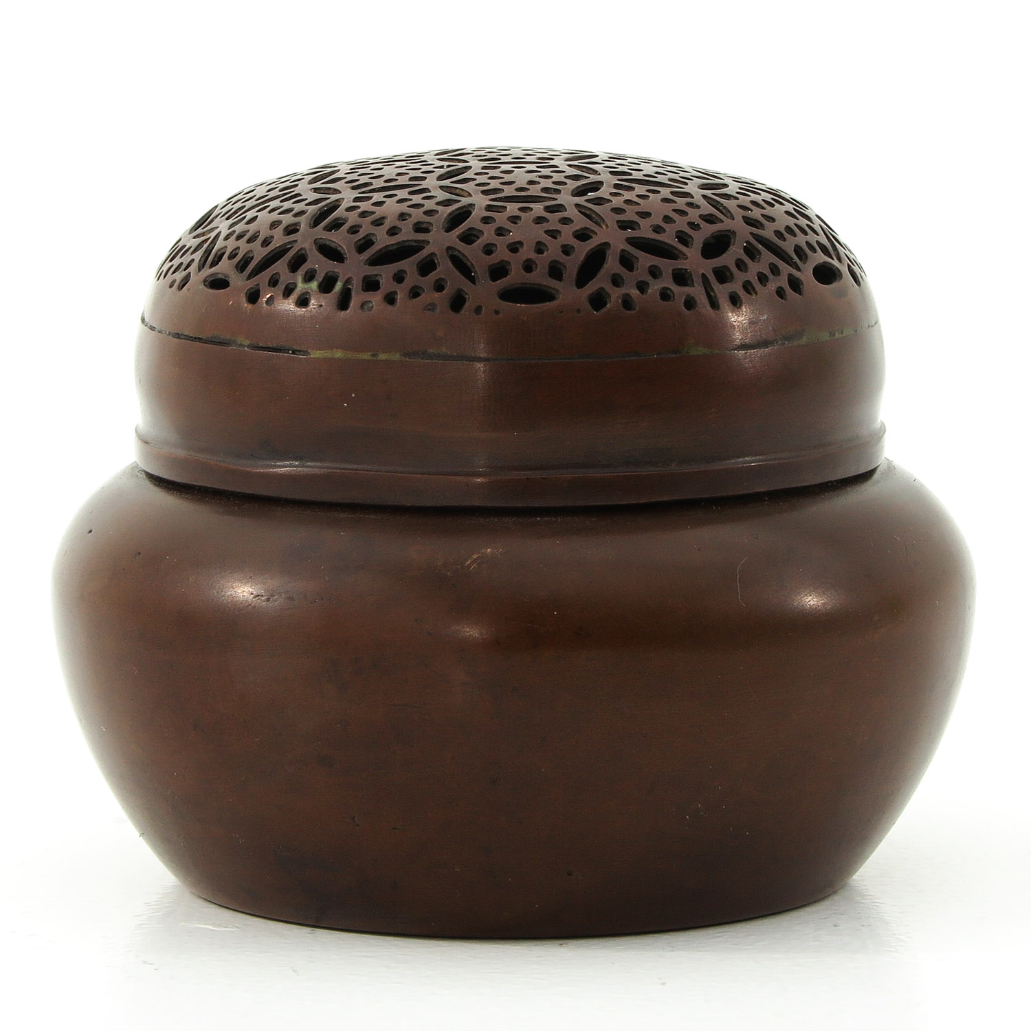 A Bronze Jar with Cover
