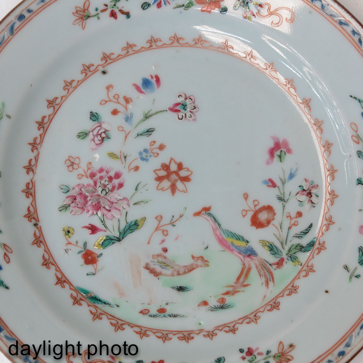A Series of 4 Famille Rose Plates - Image 9 of 10