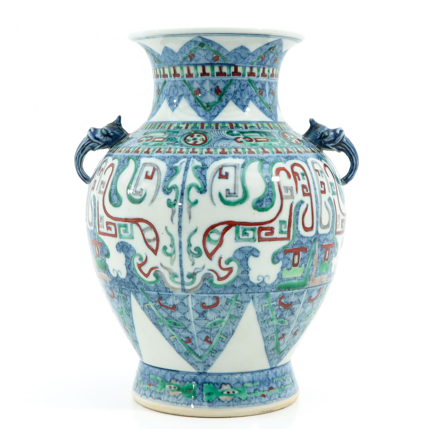 A Doucai Decor Vase - Image 3 of 10