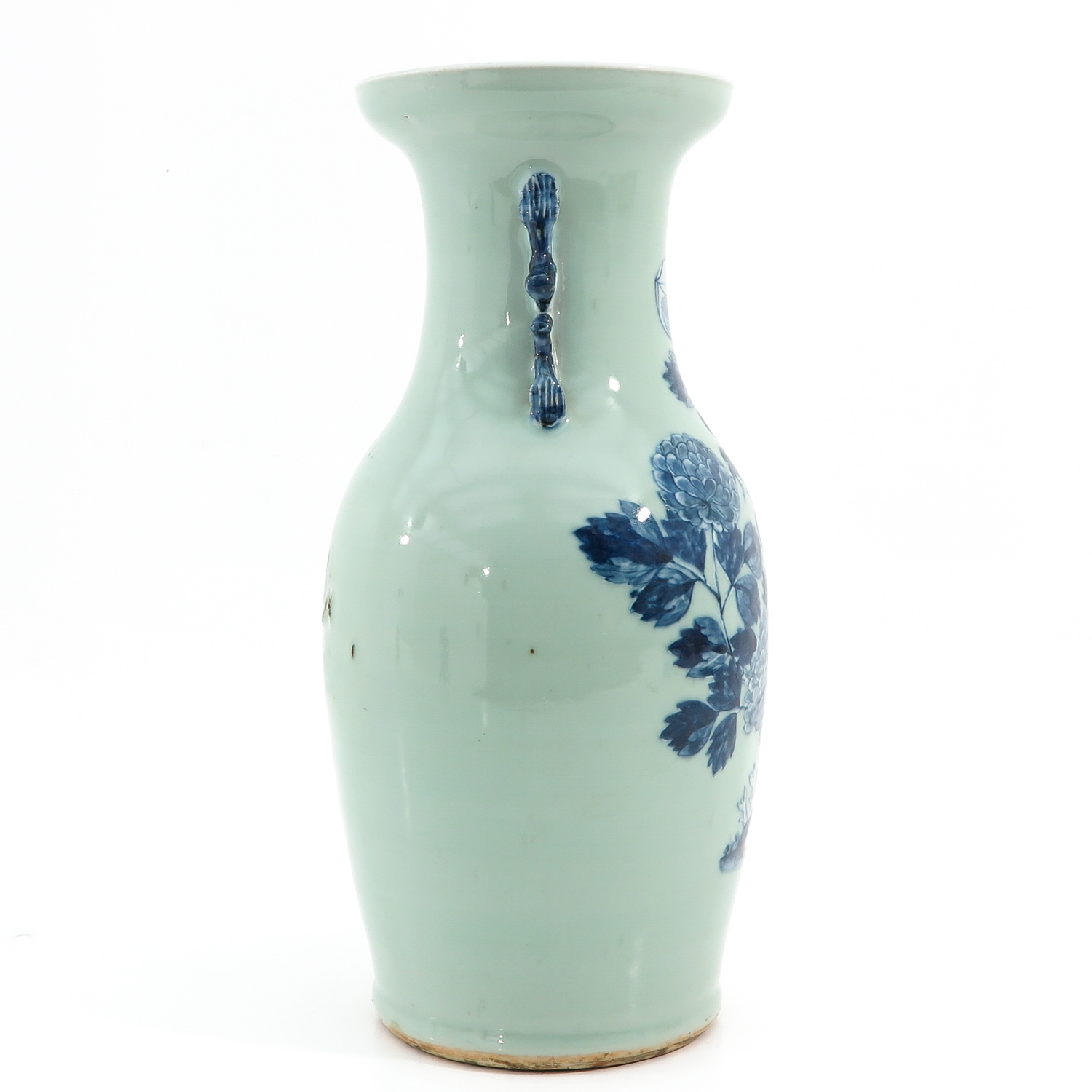 A Celadon and Blue Vase - Image 4 of 10