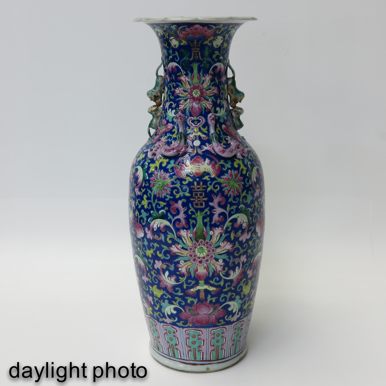 A Famille Rose Vase - Image 7 of 9