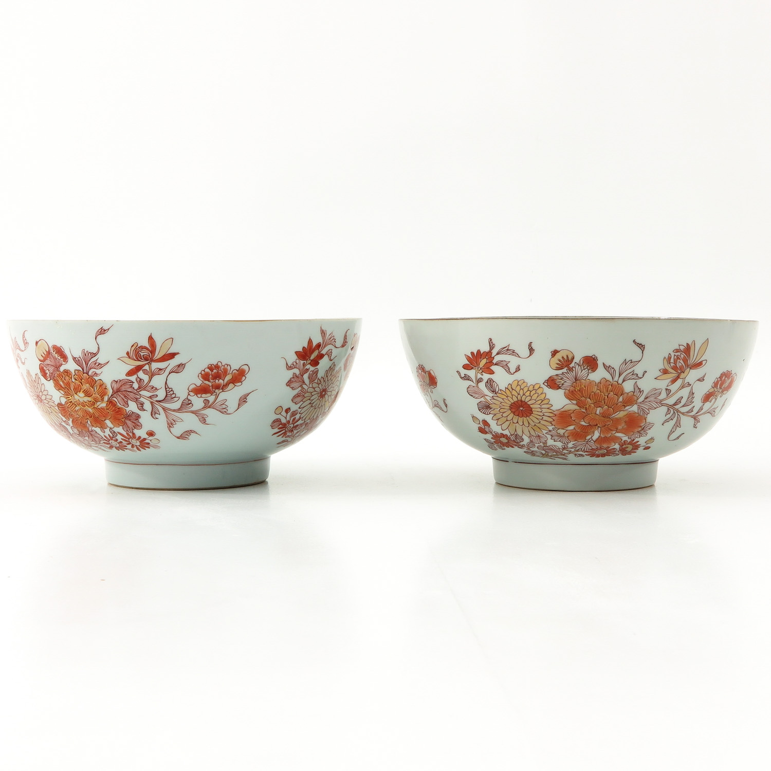 A Pair of Milk and Blood Decor Bowls - Image 4 of 9