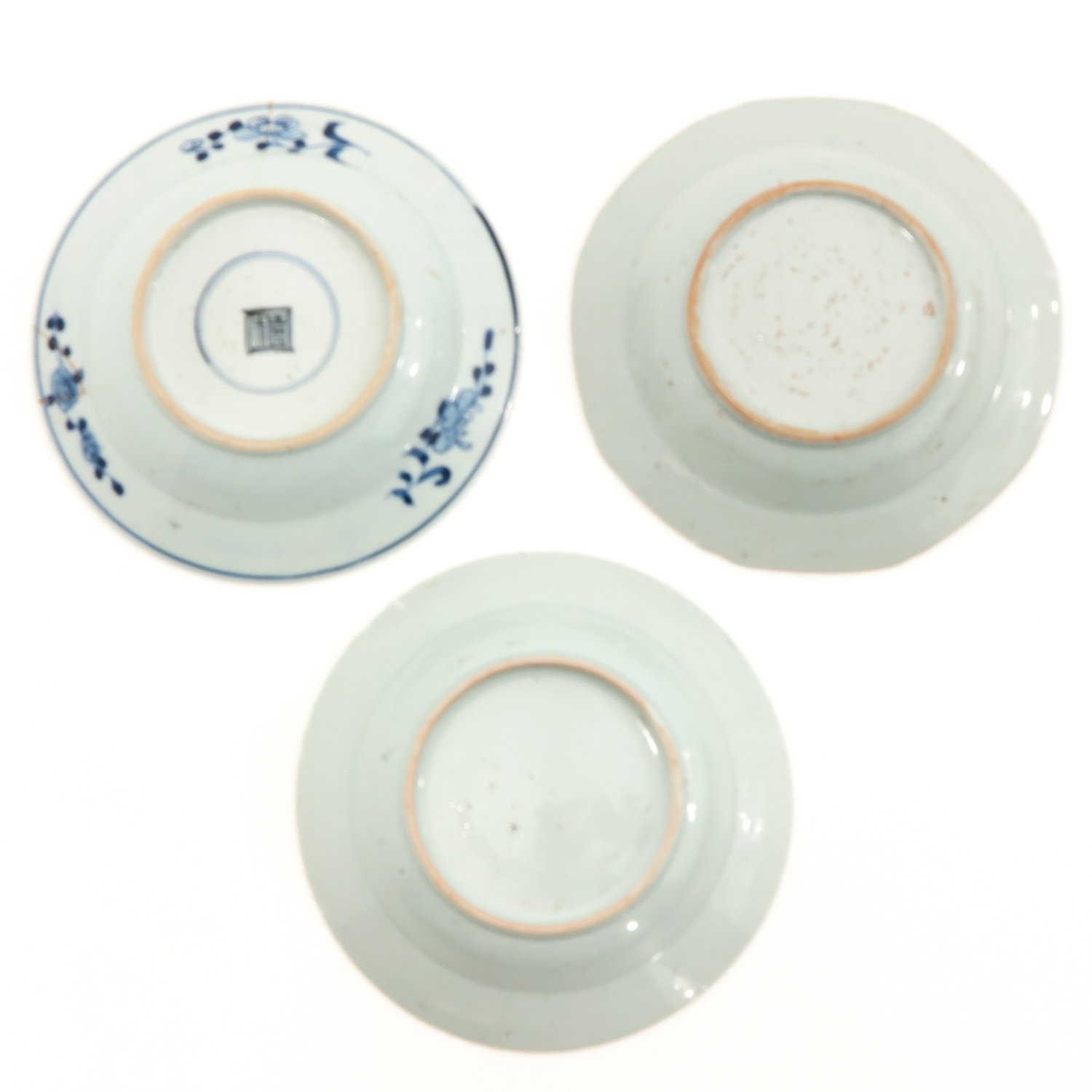 A Collection of 9 Blue and White Plates - Image 4 of 10