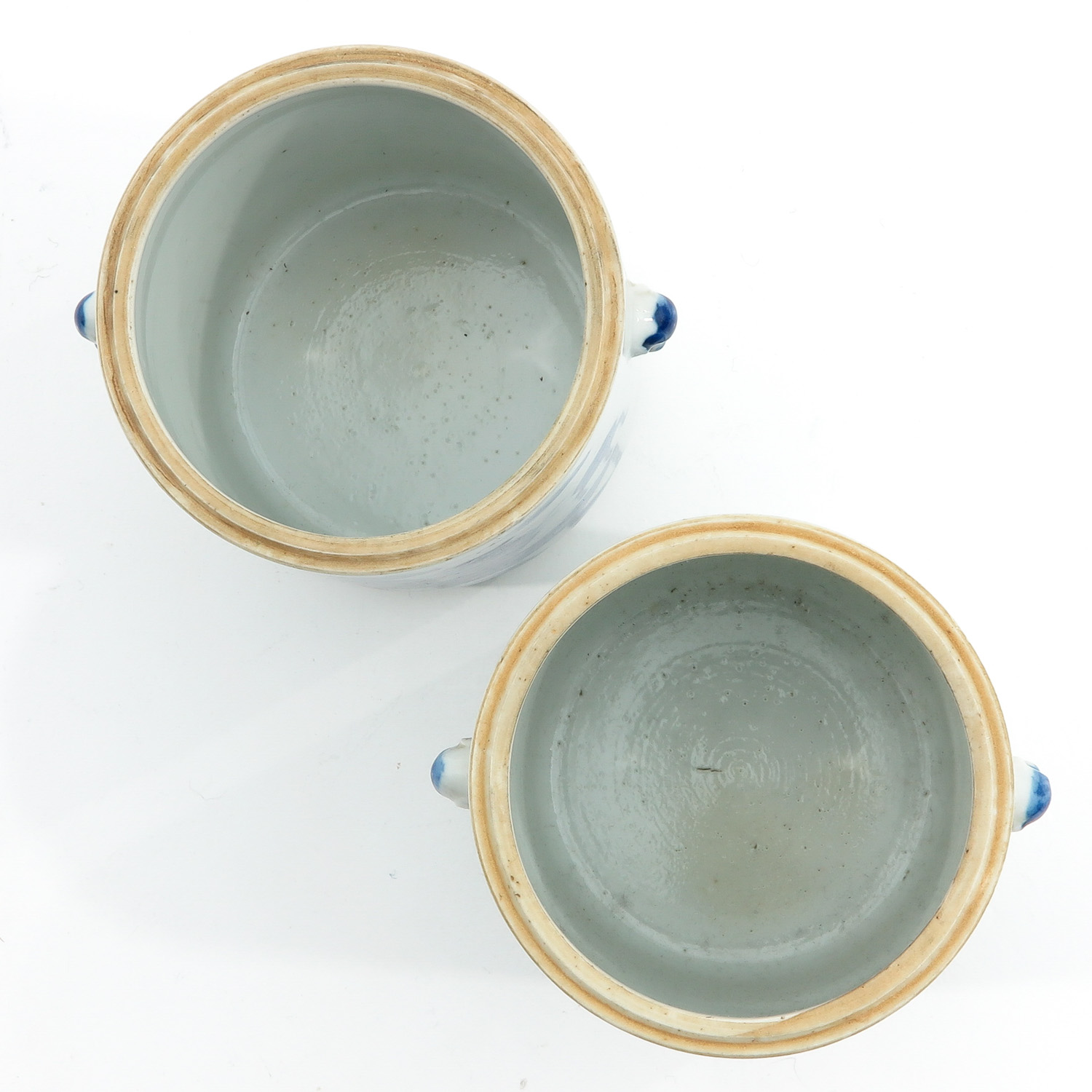 A Pair of Blue and White Jars - Image 5 of 9