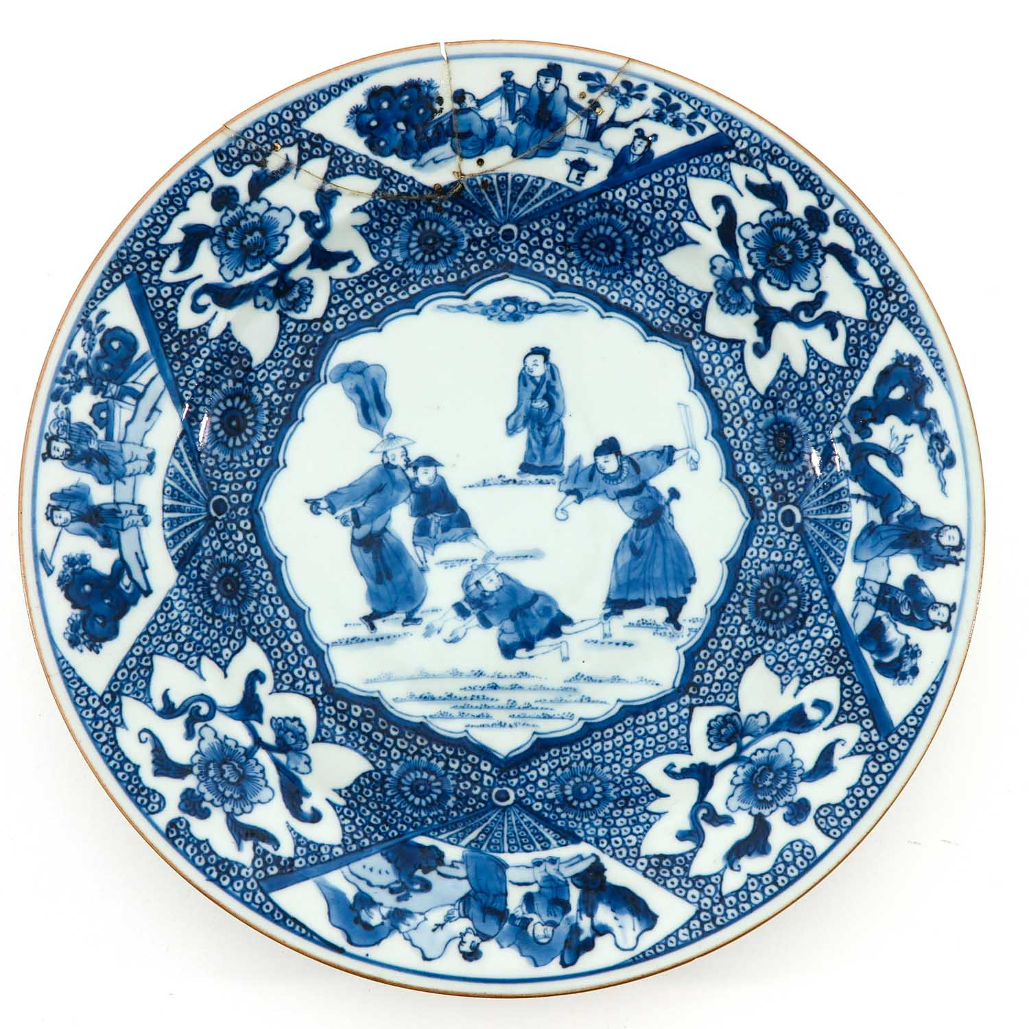A Pair of Blue and White Plates - Image 3 of 10