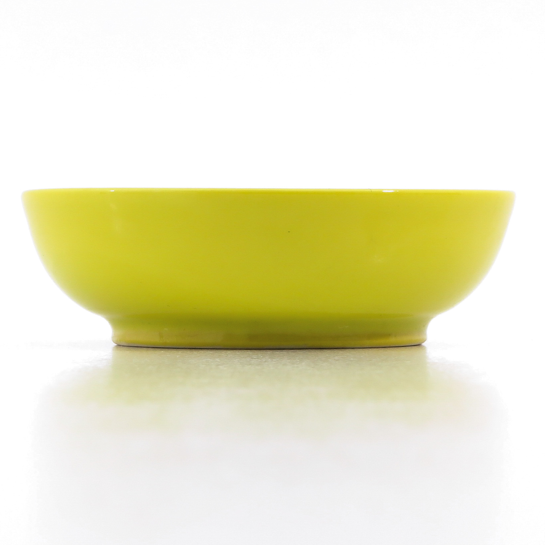 A Small Yellow Glaze Bowl - Image 2 of 9
