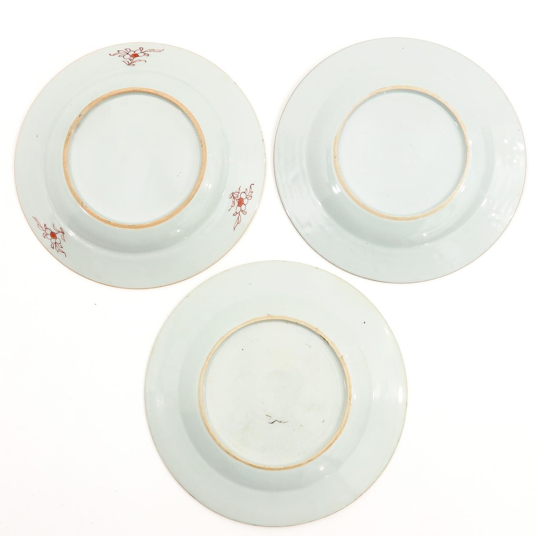 A Lot of 3 Polychrome Decor Plates - Image 2 of 10