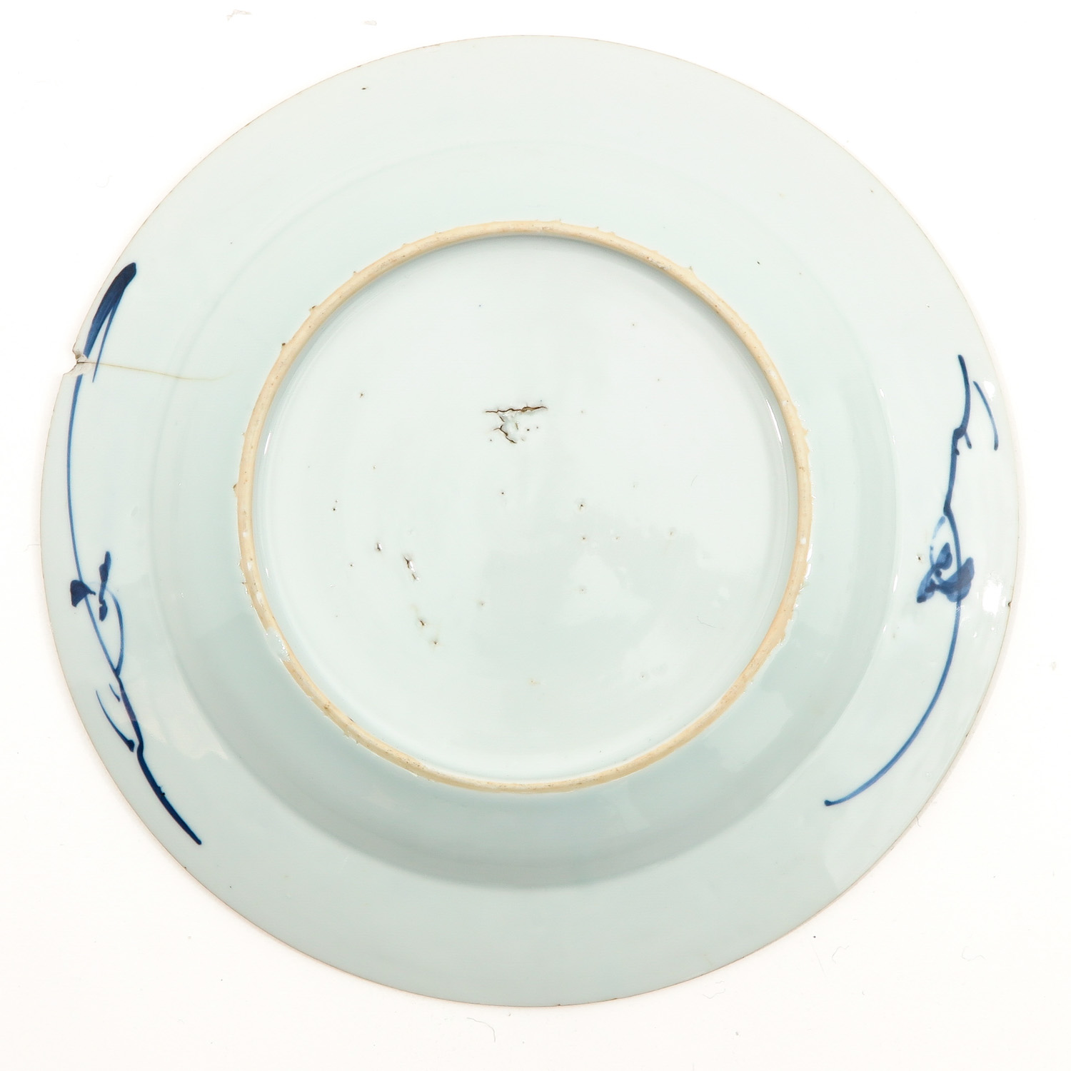 A Lot of 5 Blue and White Plates - Image 6 of 10