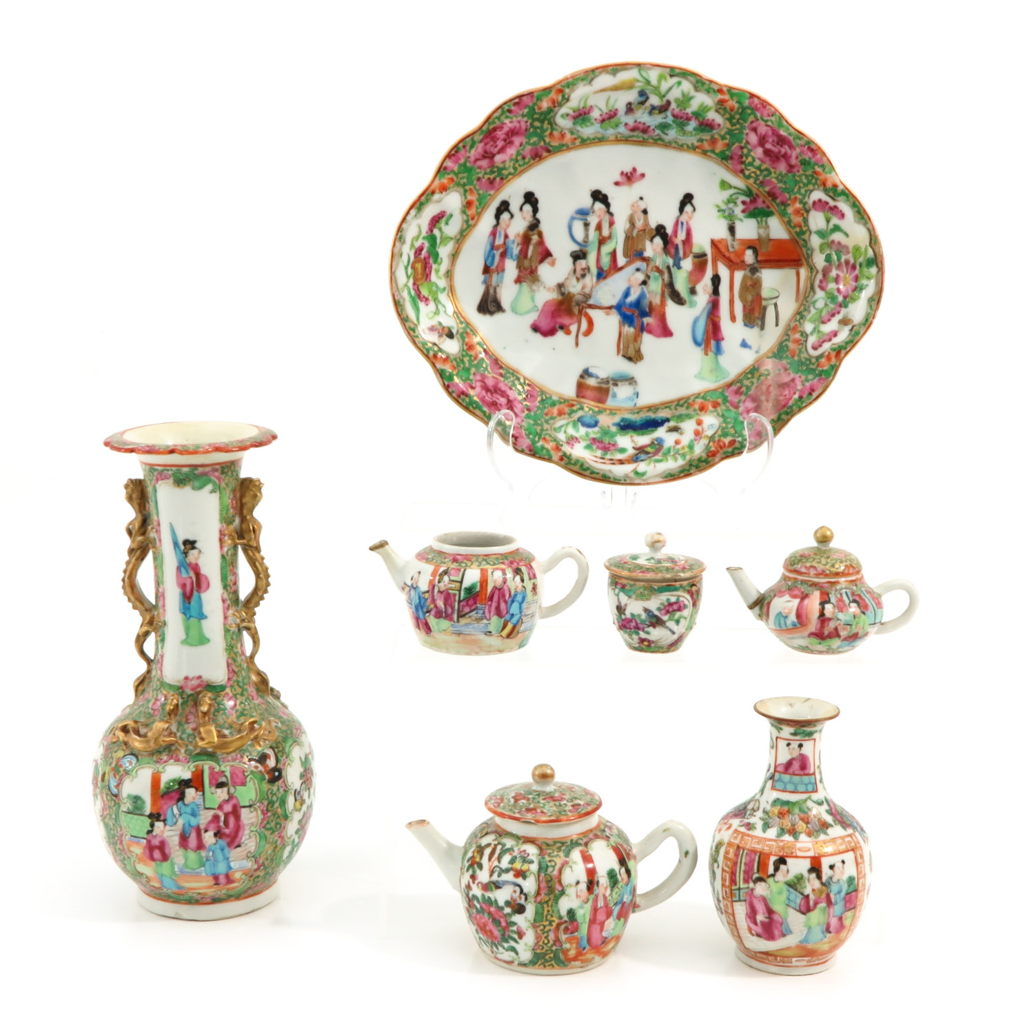 A Collection of Cantonese Porcelain