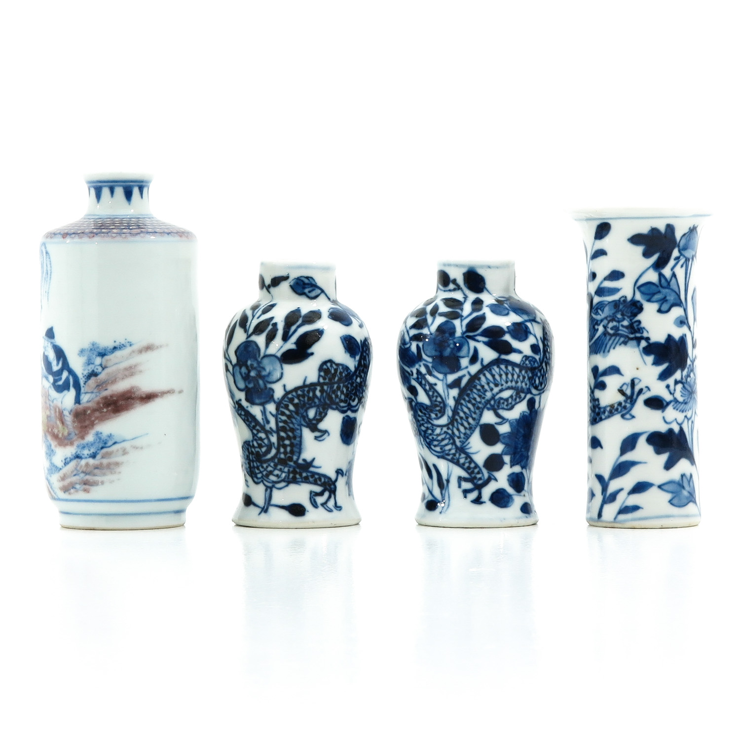 A Collection of 4 Miniature Vases - Image 2 of 10