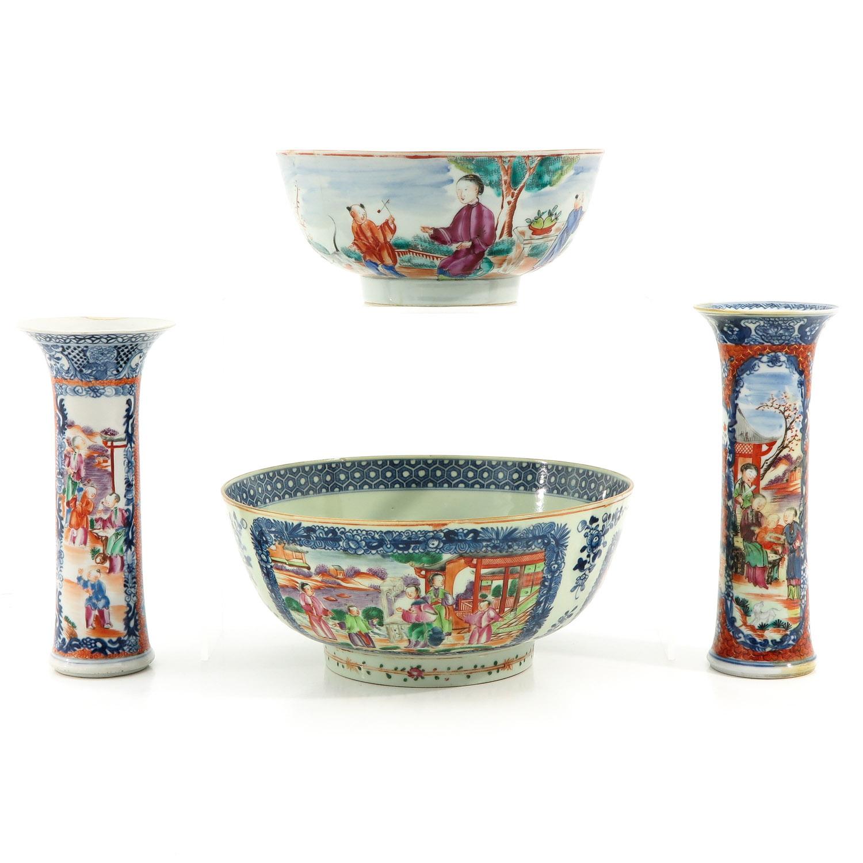 A Lot of 2 Mandarin Decor Bowls - Image 3 of 10