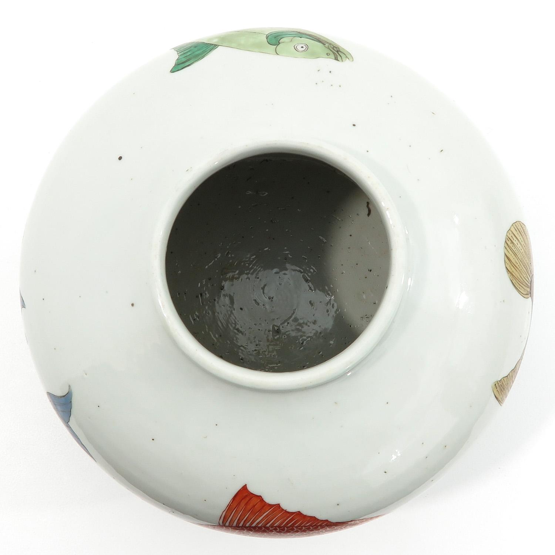A Polychrome Jar - Image 5 of 9