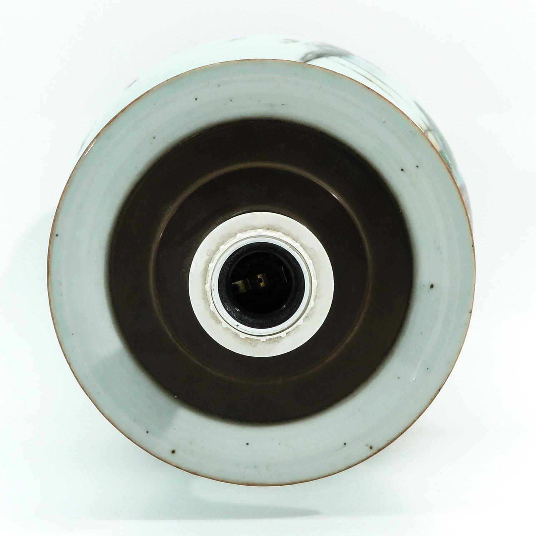 A Polychrome Decor Lamp - Image 5 of 10