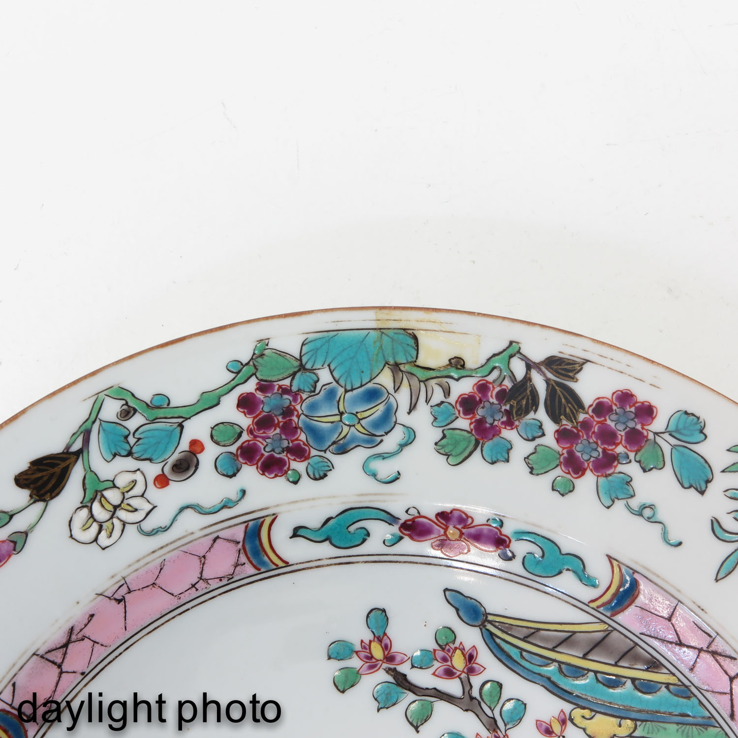 A Series of 4 Famille Rose Plates - Image 10 of 10