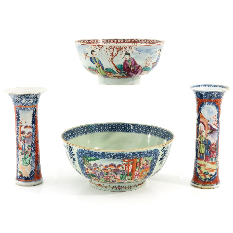A Lot of 2 Mandarin Decor Bowls