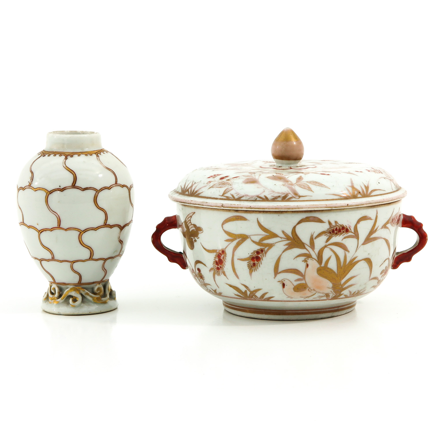 A Tea Box and Covered Dish - Image 3 of 9