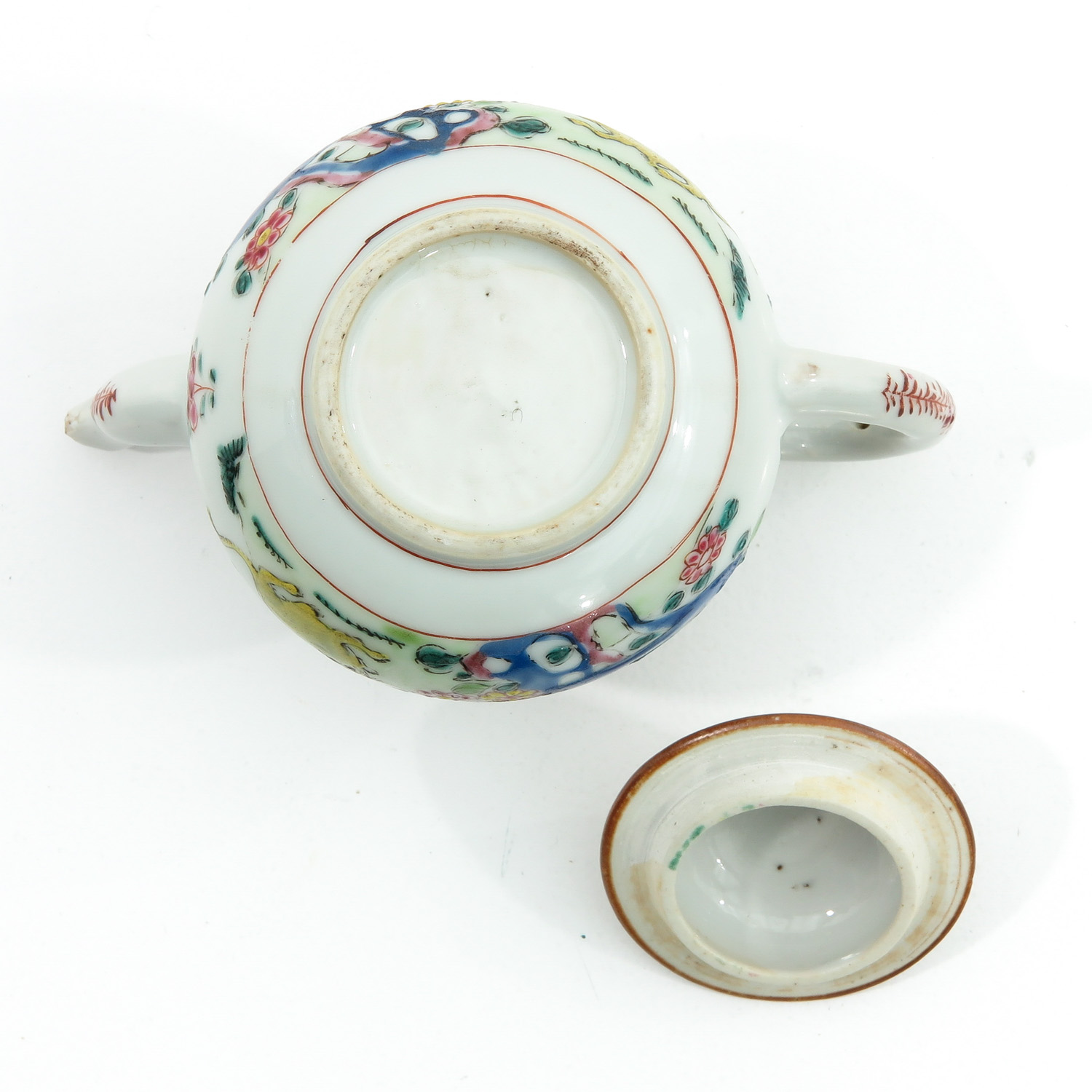 A Famille Rose Teapot - Image 6 of 9
