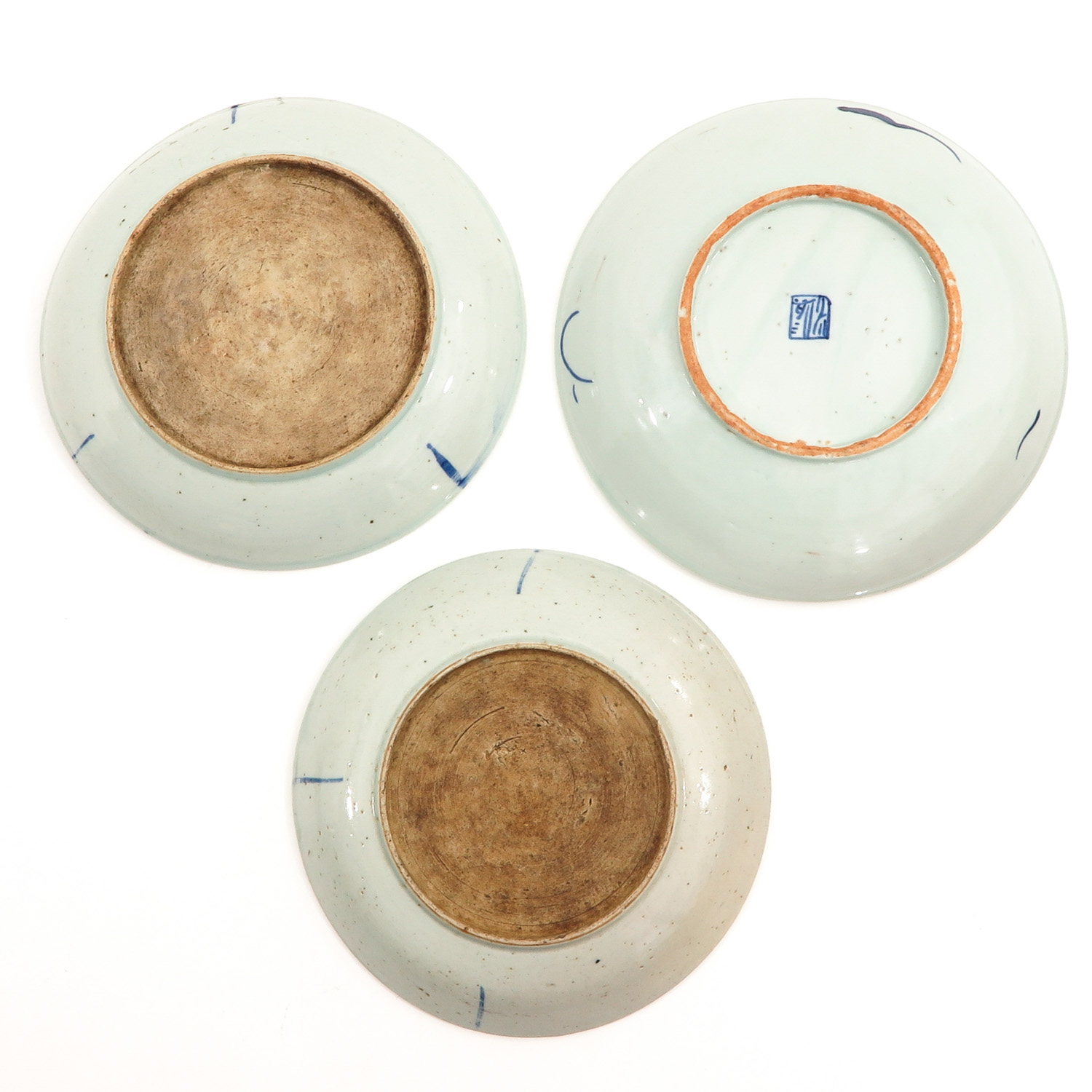 A Collection of 3 Stoneware Plates - Image 2 of 10