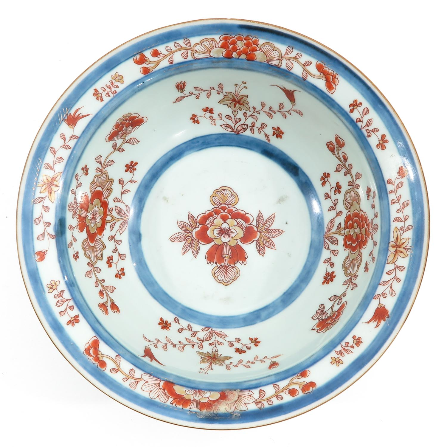 A Blue and Iron Red Bowl - Image 5 of 9