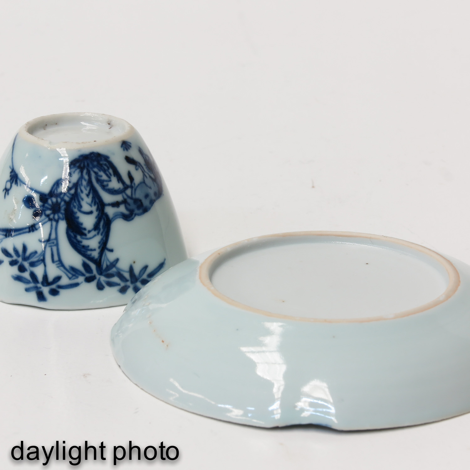 A Collection of 3 Cups and Saucers - Image 8 of 9