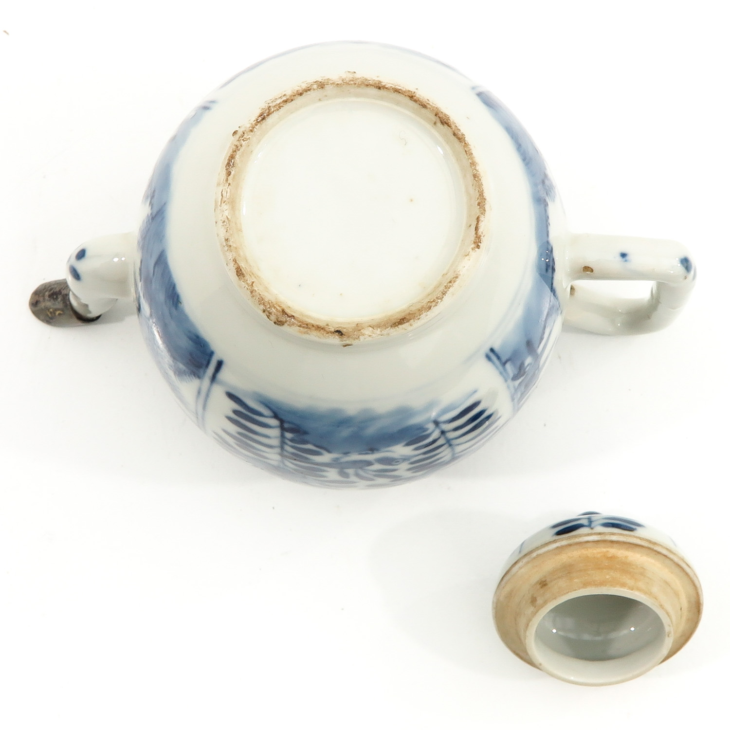 A Blue and White Teapot - Image 6 of 9