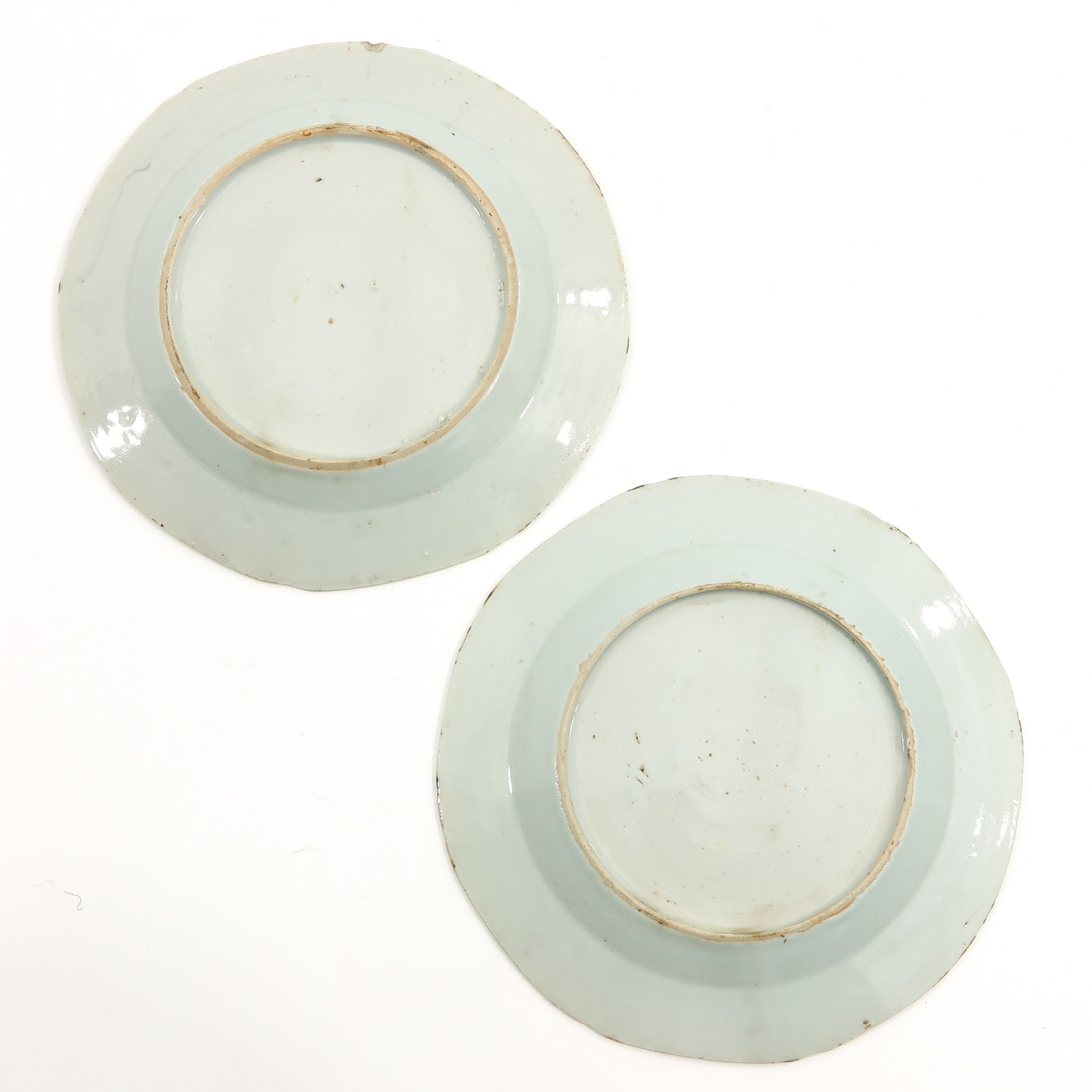 A Collection of 6 Blue and White Plates - Image 8 of 10
