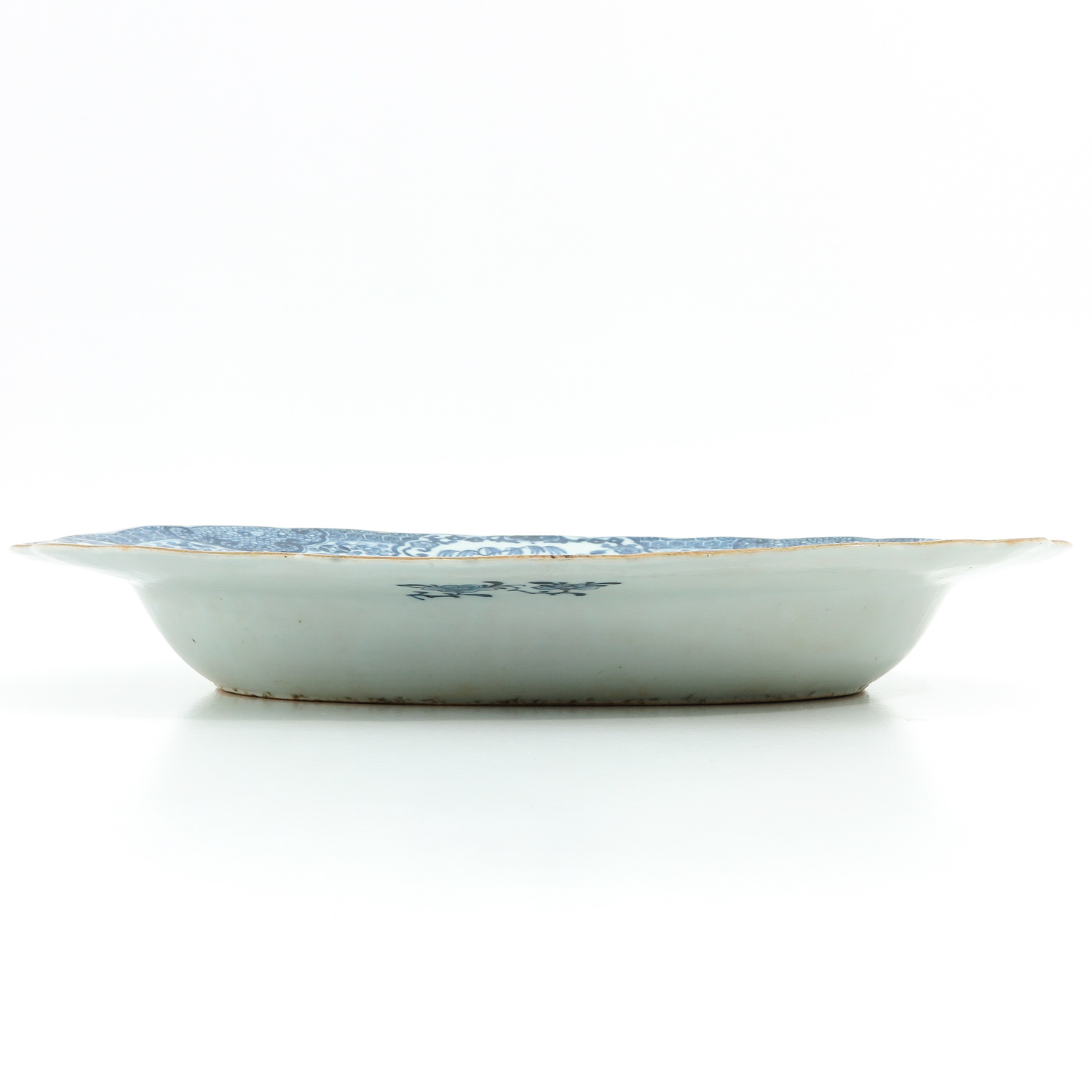A Blue and White Serving Tray - Image 4 of 7