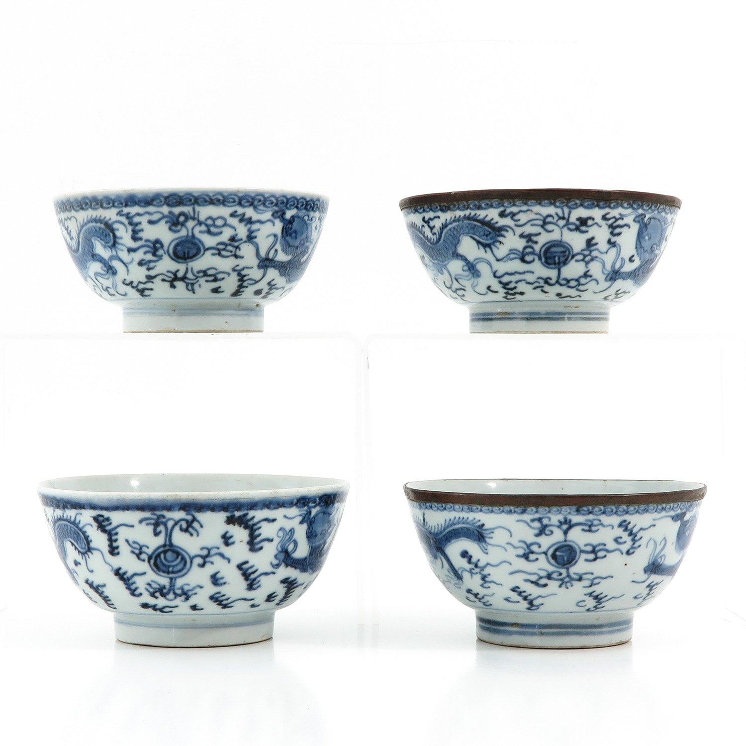 A Collection of 4 Bowls - Image 2 of 9
