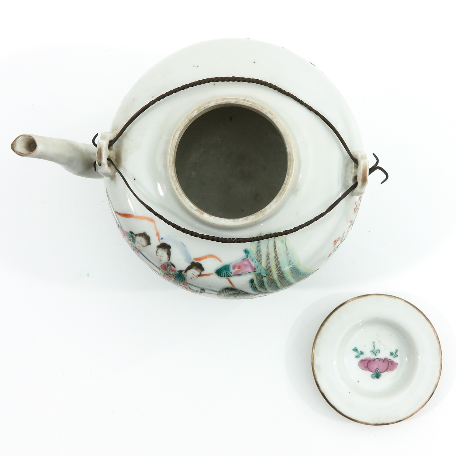 A Famille Rose Teapot - Image 5 of 10