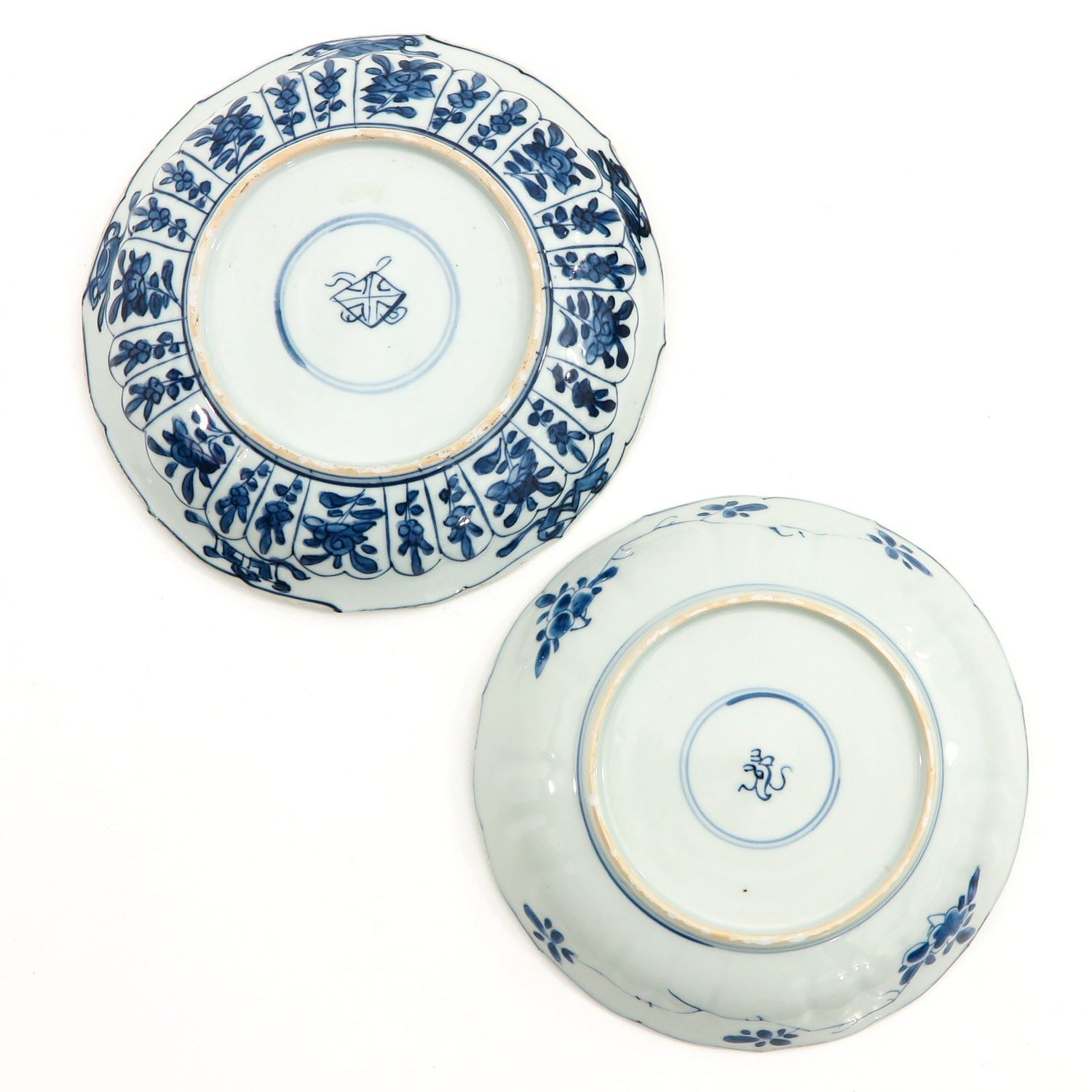 2 Blue and White Plates - Image 2 of 10