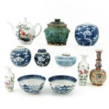 A Large Collection of Porcelain