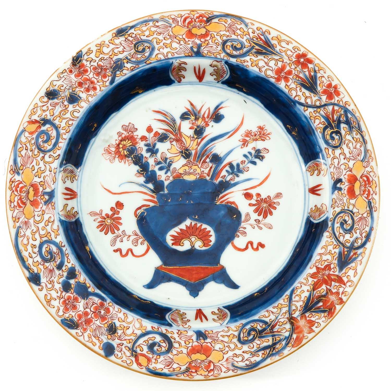 Two Imari Decor Plates - Image 5 of 10