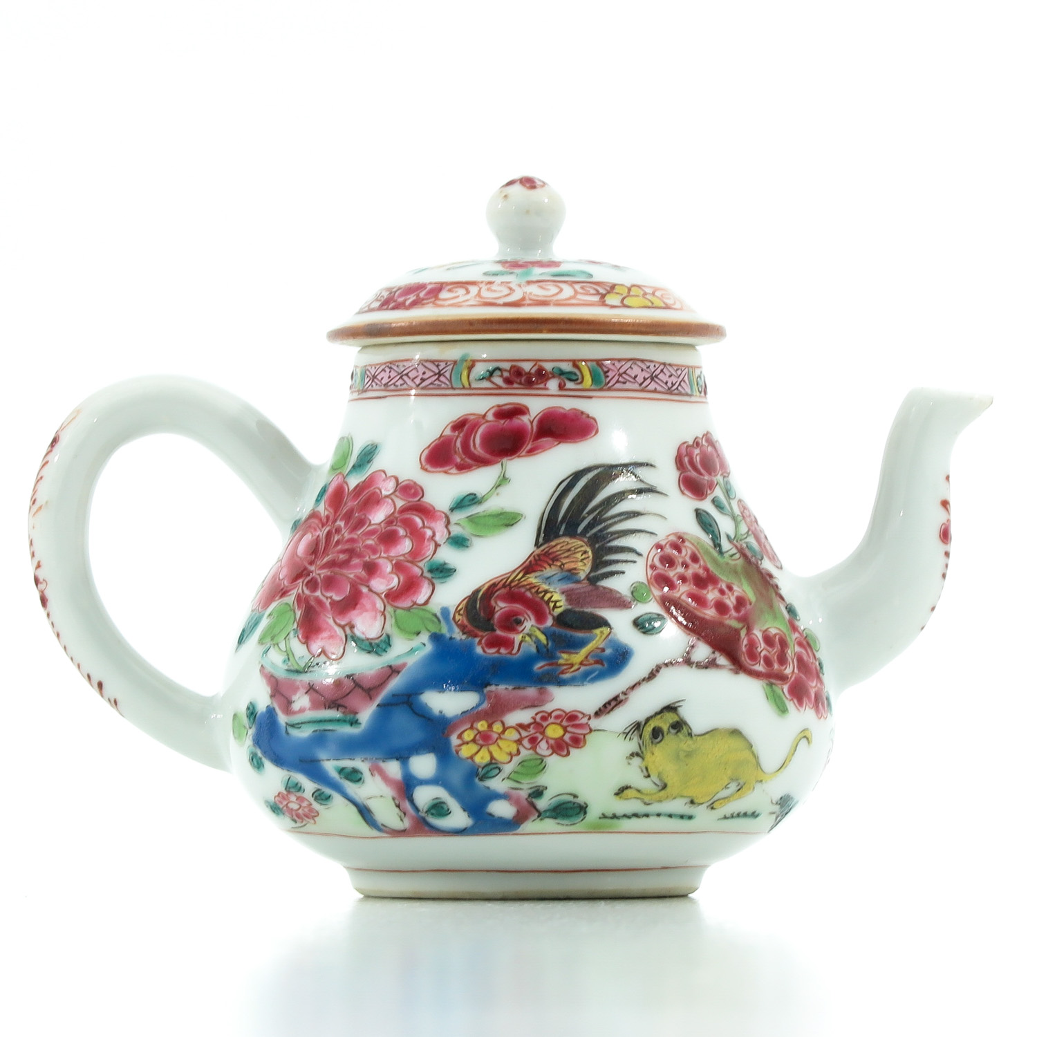 A Famille Rose Teapot - Image 3 of 9