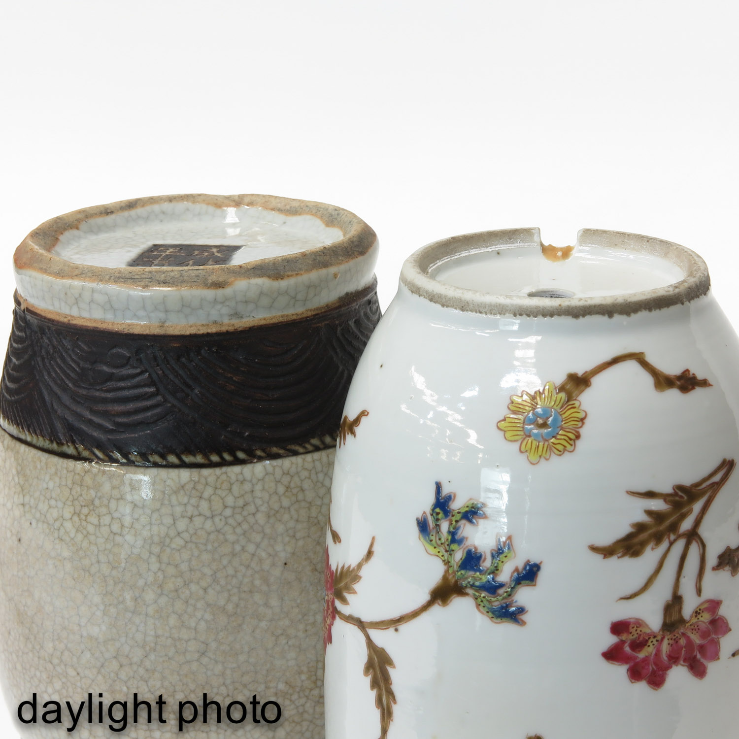 A Famille Rose and Nanking Vase - Image 8 of 9