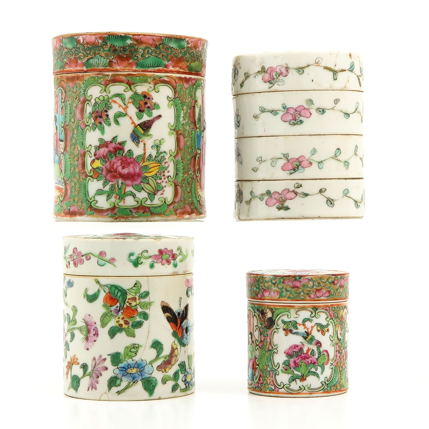A Collection of 4 Chinese Boxes - Image 2 of 10