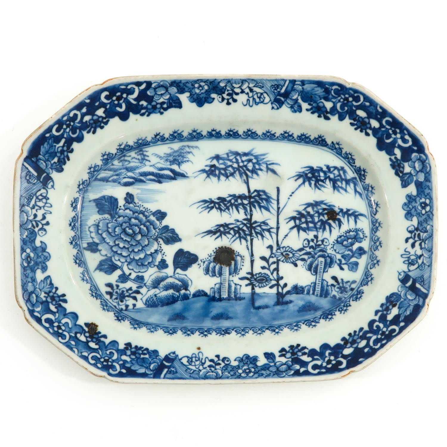 A Lot of 2 Blue and White Trays - Image 5 of 10