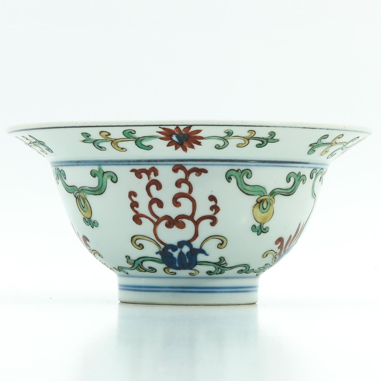 A Polychrome Decor Bowl - Image 4 of 9