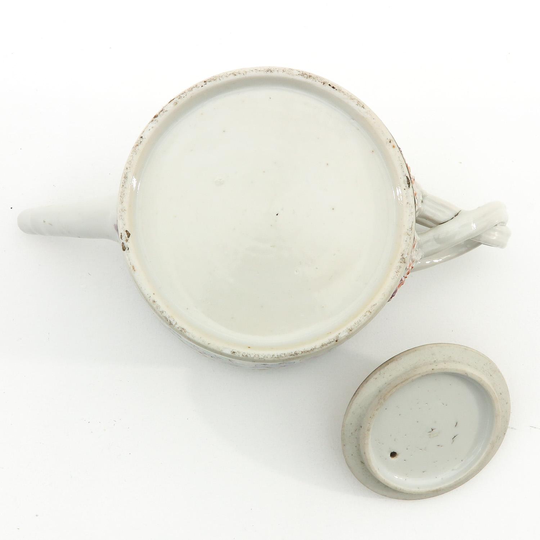 A Mandarin Decor Teapot - Image 6 of 9