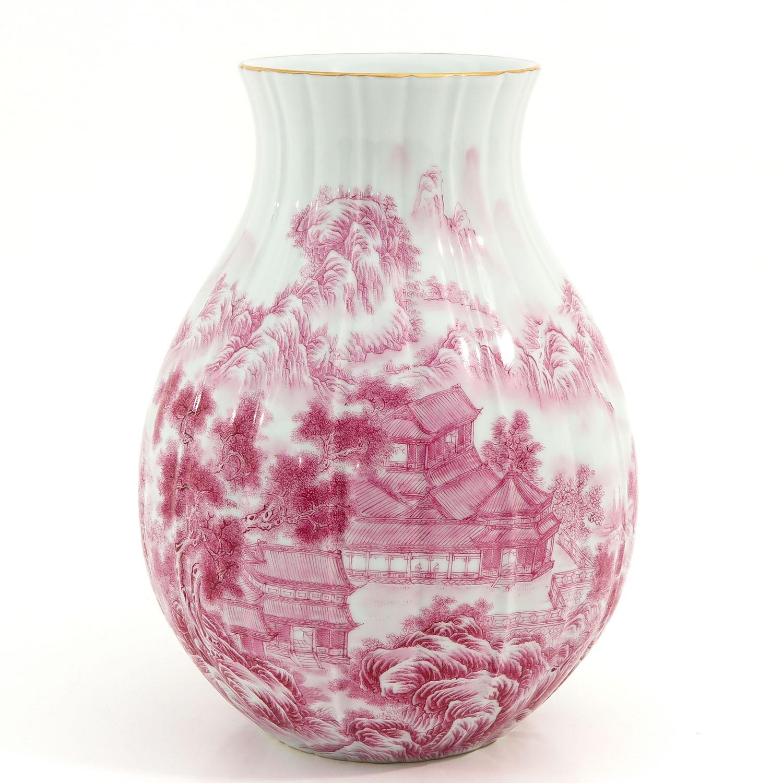 A Landscape Decor Vase