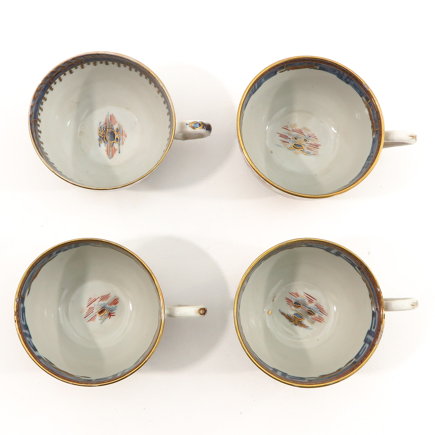 4 Imari Cups and Saucers - Image 5 of 10