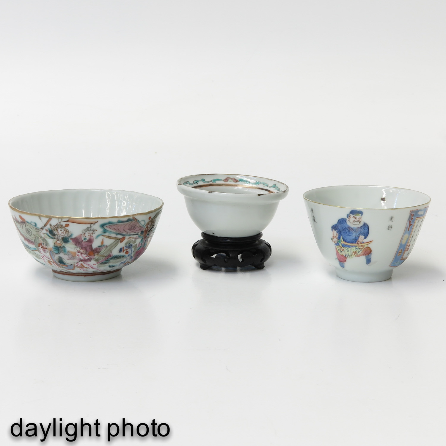 A Lot of 3 Cups - Image 7 of 9