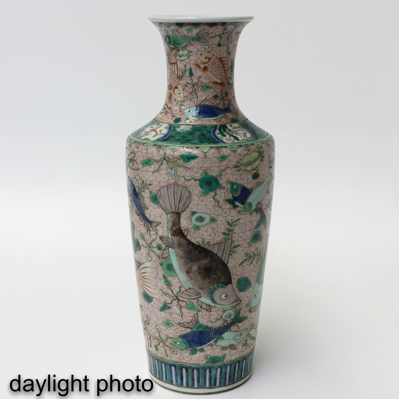 A Polychrome Vase - Image 7 of 10