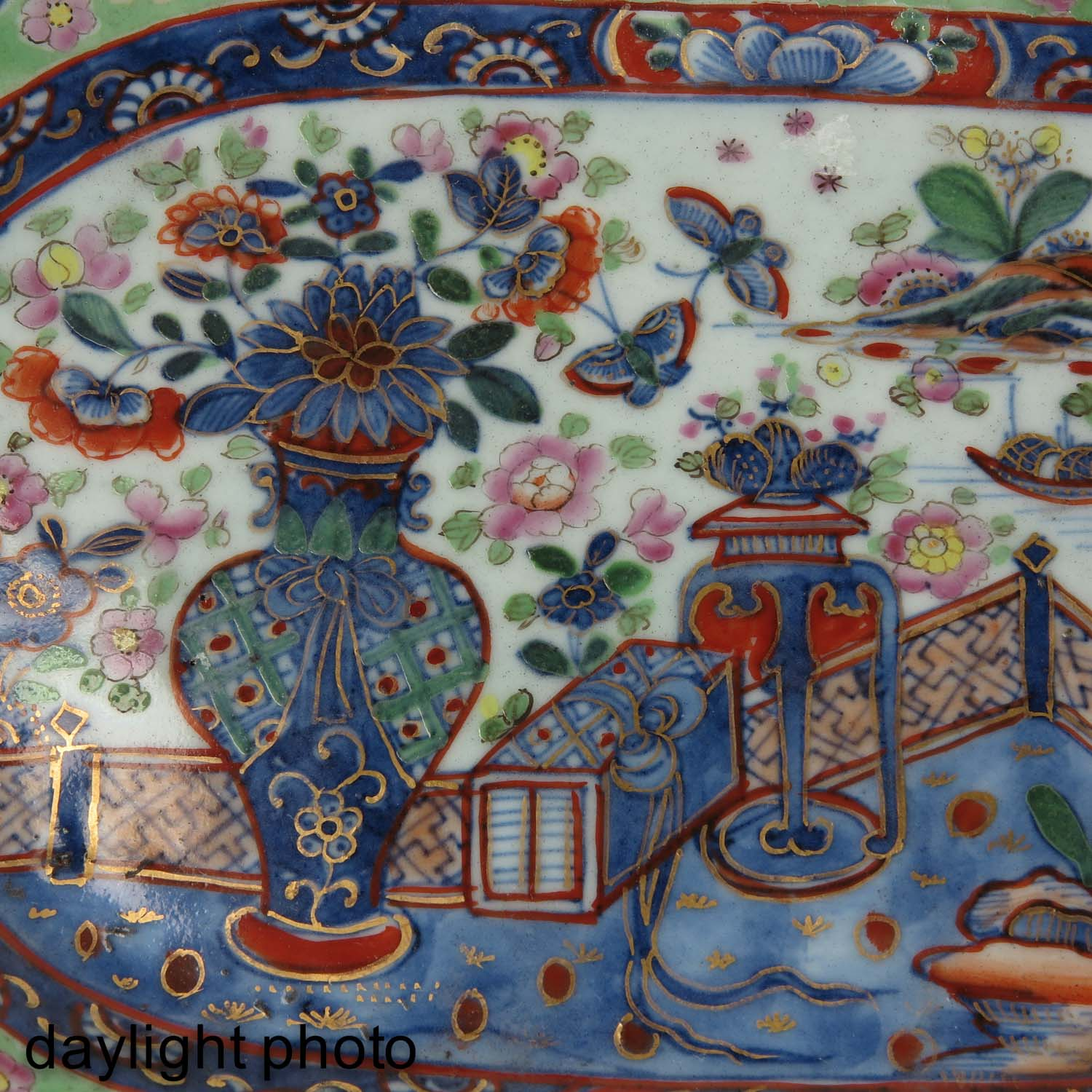 A Polychrome Dish - Image 5 of 5