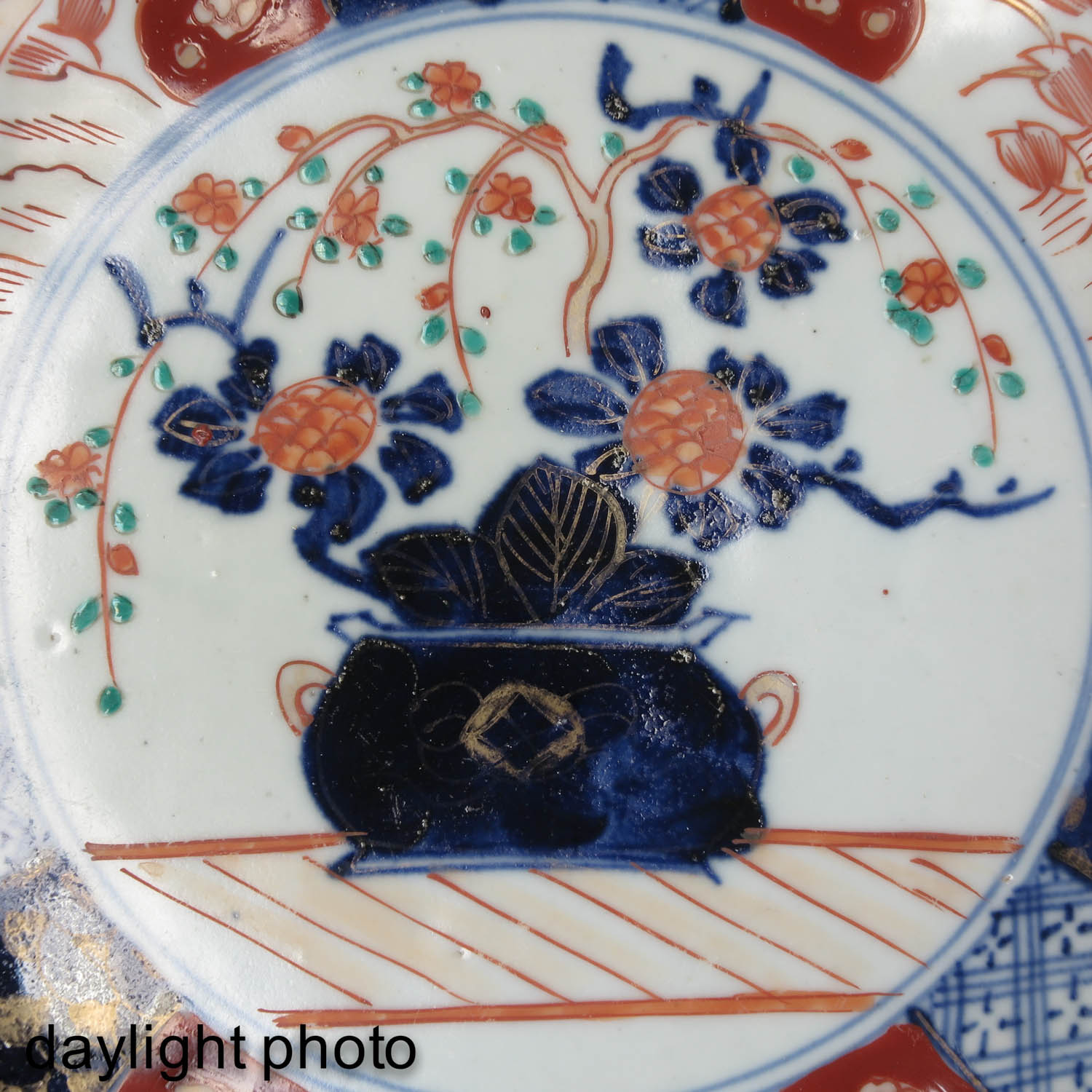 A Collection of 4 Imari Plates - Image 10 of 10