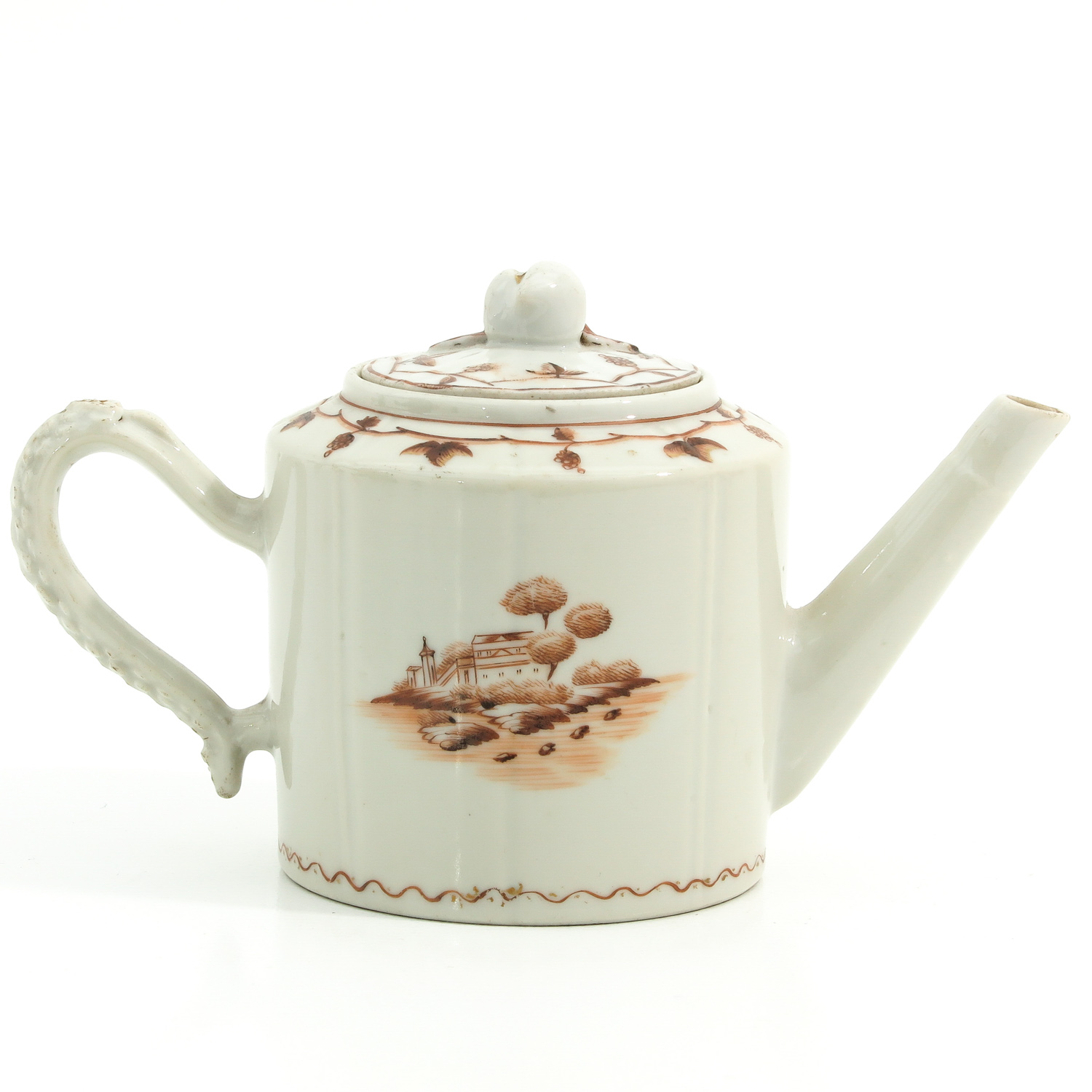 A Teapot and Small Dish - Image 3 of 9